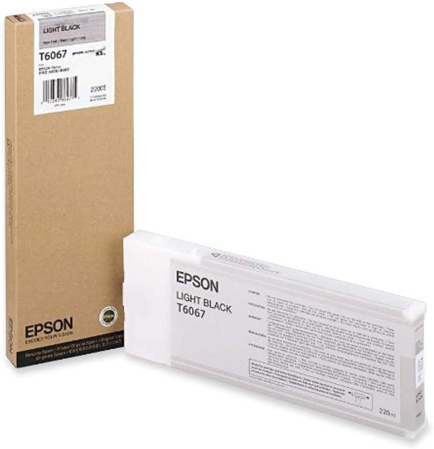 Epson UltraChrome K3 Ink Cartridge - 220ml Light Black (T606700)