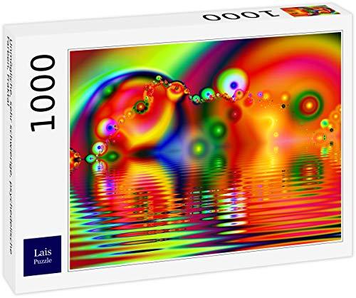 Lais Puzzle Unmögliche, sehr schwierige, psychedelische Farben, Fraktal 1000 Teile