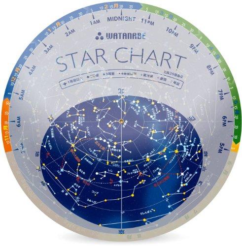 渡辺教具製作所『小型星座早見盤スターチャート』
