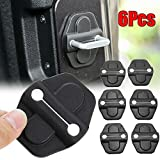 Door Lock Decoration Cover Protection Trim for 2018 2019 Jeep Wrangler JL JLU Sports Rubicon 2020 Gladiator JT ABS 6PCS