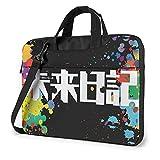 XCNGG The Future Diary Laptop Bandolera Messenger Bag Maletín de transporte Tablet Computer Mochila Bolso