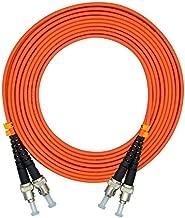 LC/SC/FC/ST 50/125 Duplex Multimode 3.0mm Fiber Optic Patch Cable (15m, ST-ST)