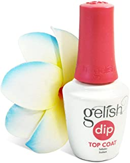 Harmony Gelish Nail Dip Liquid Top Coat Step