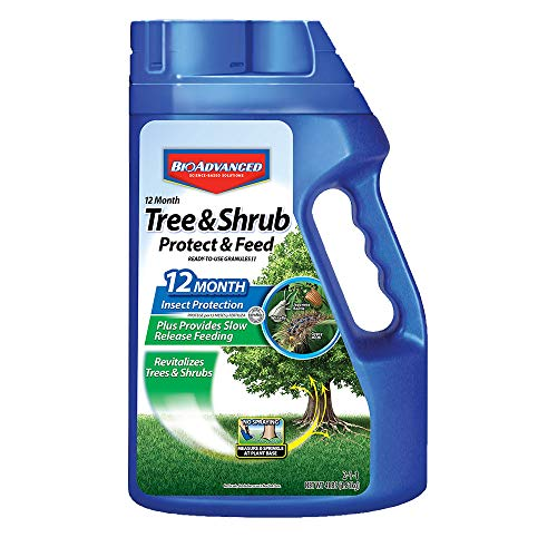 BioAdvanced 701700B 12-Month Shrub Protect & Feed Insect...