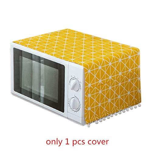 Keuken Decor, Home Magnetron Oven Covers Stofdicht Gemakkelijk te reinigen Organizer Keuken Gadgets Groothandel Accessoires Supplies Case Geel