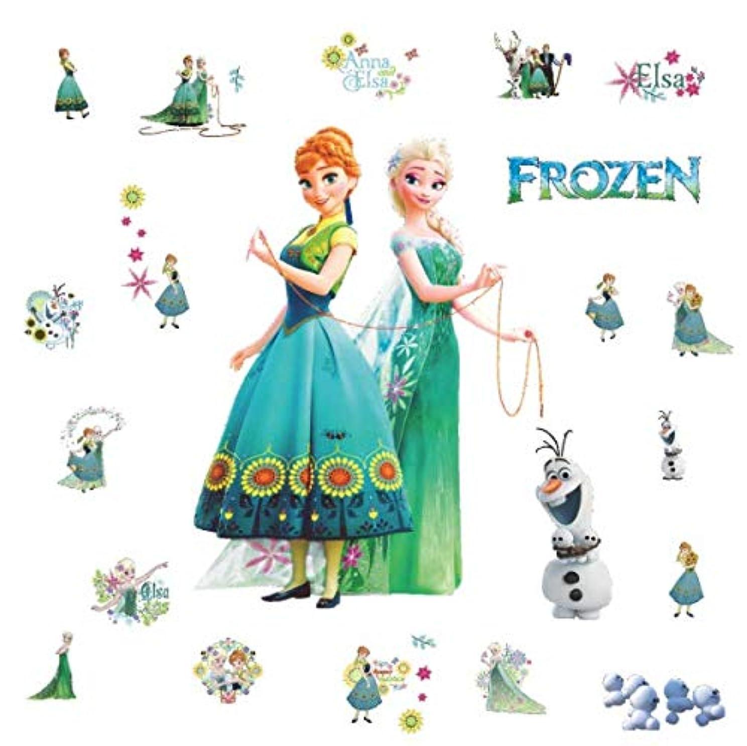 くしゃくしゃ驚かすランプウォールステッカー アナと雪の女王 Frozen ウォルト?ディズニー?アニメーション disney 壁紙シール wallsickers