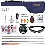 Fly Fishing Rod/Reel Starter Full Kit by FISHINGSIR