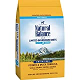 Natural Balance L.I.D. Limited Ingredient Diets Dry Puppy Food, Potato...