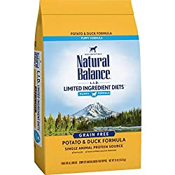 Natural balance puppy limited ingredient diet