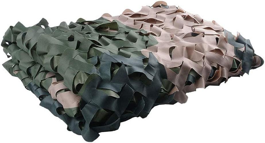 Filet Camo Visière Extérieure GR Mode forêt Camouflage Net Jardin en Plein air décoration cachée Tente de Camping Camouflage Net Multi-Taille en Option (Taille  3  4m) Armée Camo Filet