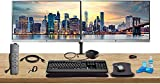 HP Home Office Bundle with 2 x E223 22' Monitors (HDMI,...