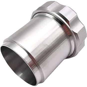 Hlyjoon In Lega di Alluminio Saldare Il Bocchettone di Riempimento del Serbatoio dellOlio con Tappo 1,5 Tappo del Gas Tappo del Serbatoio del Carburante Ventilato Tappo del Calibro del Combustibile