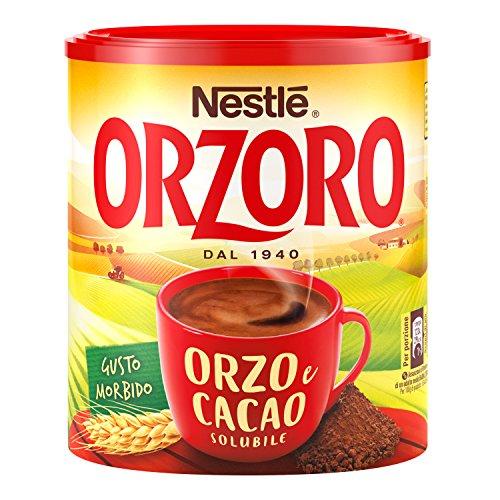 Nestlé Orzoro Orzo e Cacao Solubile, Barattolo, 180 g