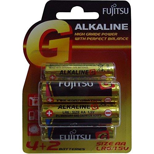 pila alkalina stilo aa blister 4+2 pz Fujitsu