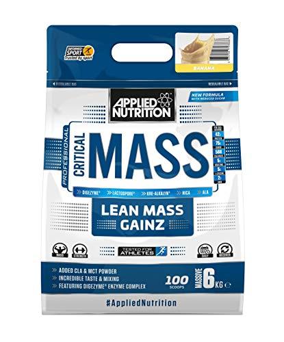 Applied Nutrition Polvere Di Proteine Di Massa Critica, Banana - 6000 g