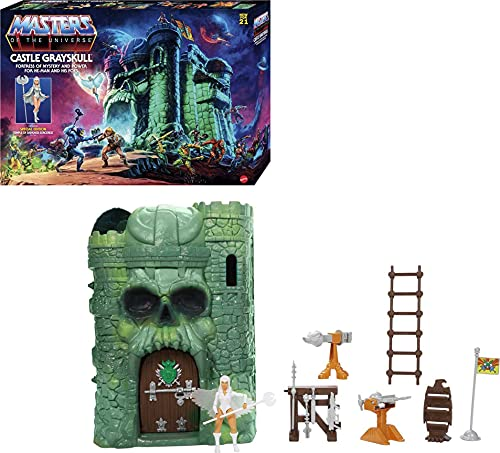 Mega Construx Masters of the Universe - Playset Castello di Grayskull con Personaggio Sorceress Edizione Speciale e Tanti Accessori, Giocattolo per Bambini 6+ Anni, GXP44