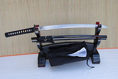 Handgeschmiedetes-Gefaltetes Samurai Schwert Wakizashi Tiger