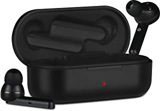 Zebronics Zeb-Sound Bomb True Wireless Earphone Supports Voice Assistant,Call Function,6hrs Playback Time with Charging Case(Black)