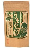 種子島松寿園 粉末茶入りのおいしい煎茶 鹿児島県産 うまか茶 100グラム 綺麗なグリーンと爽やかな香り 減農薬栽培の高級茶葉使