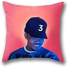 GARDEAR Chance The Rapper Pillow Cover Standard Throw Pillowcase 18X18 Inch