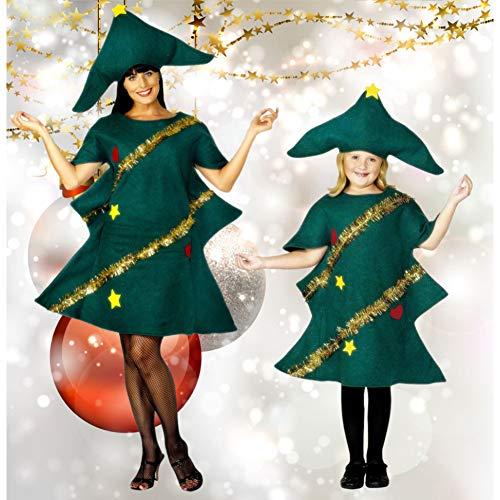 ZHANGSDJ Costumi Natalizi Traje De Navidad Vestido De Cosplay De Manga Corta para Mujer, Disfraz De Duende, Fiesta...