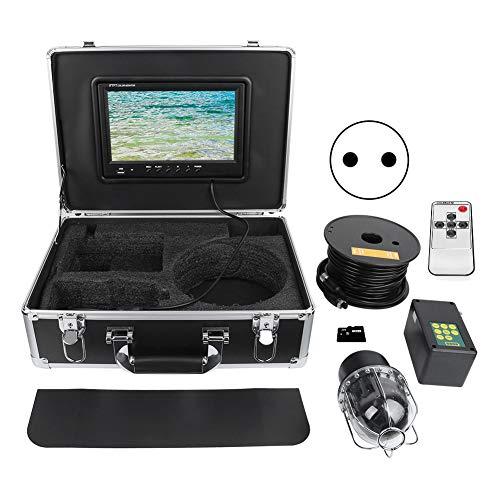 Videoregistratore DVR panoramico da pesca con videocamera rotante a 360 ° Video subacqueo IP68 Pesca oceanica per(European regulations)