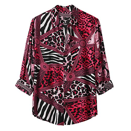 FRAUIT Mannen luipaard hemd print lange mouwen oversize herfst winter losse overhemden mode elegant wondermooi streetwear zacht ademend comfortabel party festival dansparty kleding blouse tops M-3XL