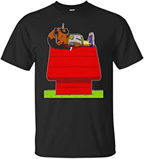 Snoop and Dogg Sleeping On Snoopy's House T Shirt