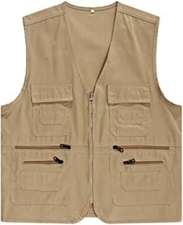 Best khaki gilet mens Reviews