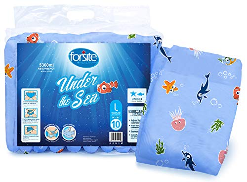 Forsite Health Under The Sea Max Adult Briefs