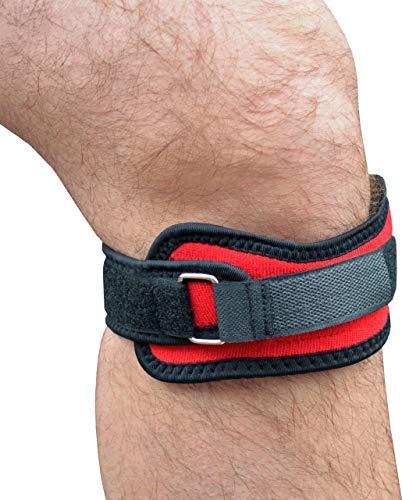 Medipaq Kniebandage mit Patella-Kompression mit 4X starken Magneten zur Schmerzlinderung