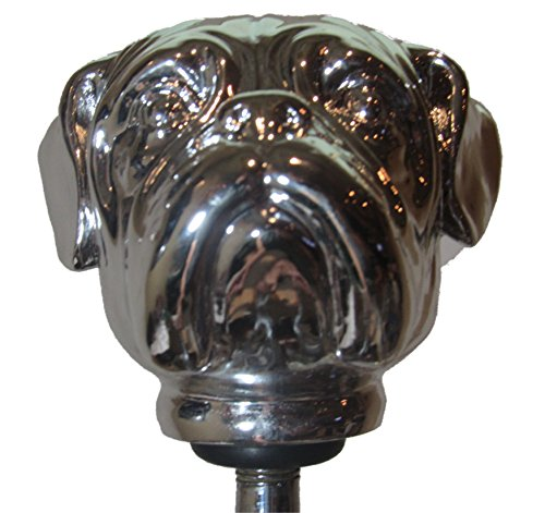 Kool Collectibles Chrome Bulldog Head Shift Knob Shifter Rat Rod Lever Mac