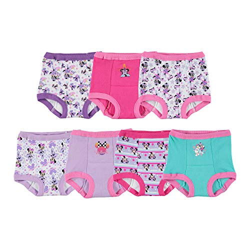 Disney Baby Girls' Minnie Mouse 7pk Potty Training Pant, minnie2T, 2T