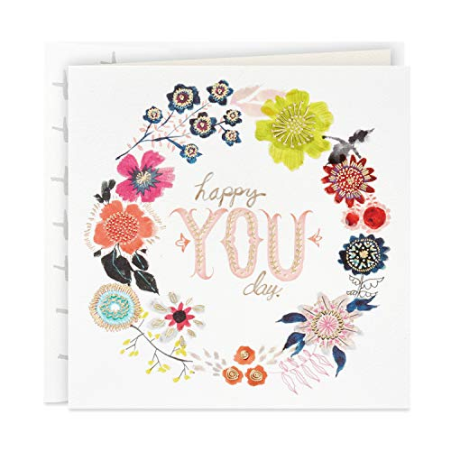 Hallmark Studio Ink Birthday Card or Mothers Day Card (Happy You Day)