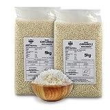 Carioni Food & Health Arroz carnaroli Bio, Especial Risotto - 5 kg (Paquete de 2 Piezas)