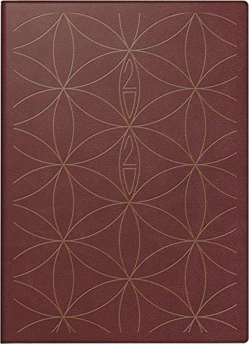rido/idé 701850401 Taschenkalender Technik S (2 Seiten = 1 Woche, 100 x 140 mm, Kunstleder-Einband Trend, Kalendarium 2020) weinrot