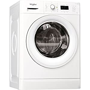 Whirlpool FWL61252W EU Independiente Carga frontal 6kg 1200RPM A++ Blanco – Lavadora (Independiente, Carga frontal…