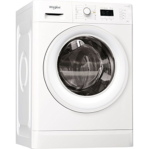 Whirlpool FWL61252W EU Independiente Carga frontal 6kg 1200RPM A++ Blanco - Lavadora (Independiente, Carga frontal, Blanco, Giratorio, Izquierda, Blanco)