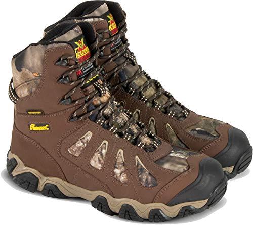 "Thorogood 863-7079 Men's Crosstrex Series - 8"" 1000g Insulated Waterproof Hiker Boot, Brown/Mossy Oak - 10.5 M US"