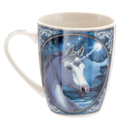 Lisa Parker - Taza de Desayuno (Porcelana, en Caja expositora), diseño de Unicornio