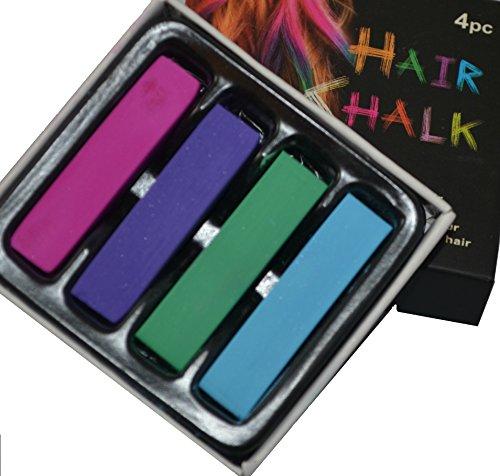 Haarkreide Kreide Puder temporäre Farbe auswaschbar ideal für Karneval Fasching Party Halloween Geschenk für Ostern Weihnachten Geburtstag Mitgebsel ascabo (4)