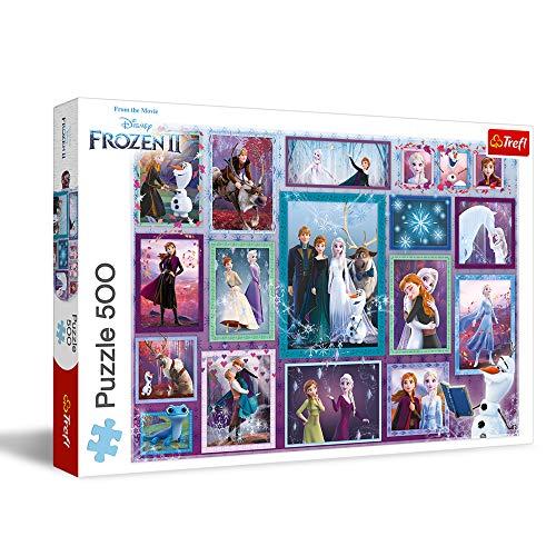 Trefl Puzzle da 500 Pezzi - Disney Frozen 2
