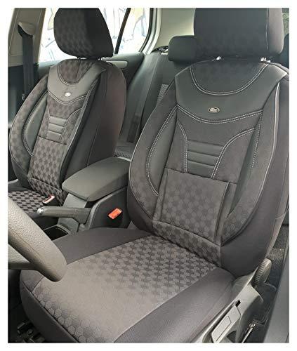 Maß Sitzbezüge kompatibel mit Mercedes Vito Viano W639 Fahrer & Beifahrer Farbnummer: 910