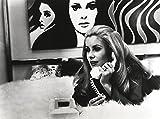 Catherine Deneuve with Telephone Black and White Photo