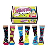 trendaffe Mojitoes Cocktail Oddsocks Socken in 37-42 im 6er Set - Strumpf