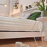 Naturalex   Confort Pedic   Colchón 90x190 Cm Fusión del Viscoelástico y Blue Látex   Acogida Firme en Doble Cara   Descanso Confortable Sistema MemoFeel   Ergonómico 7 Zonas de Confort   OekoTex