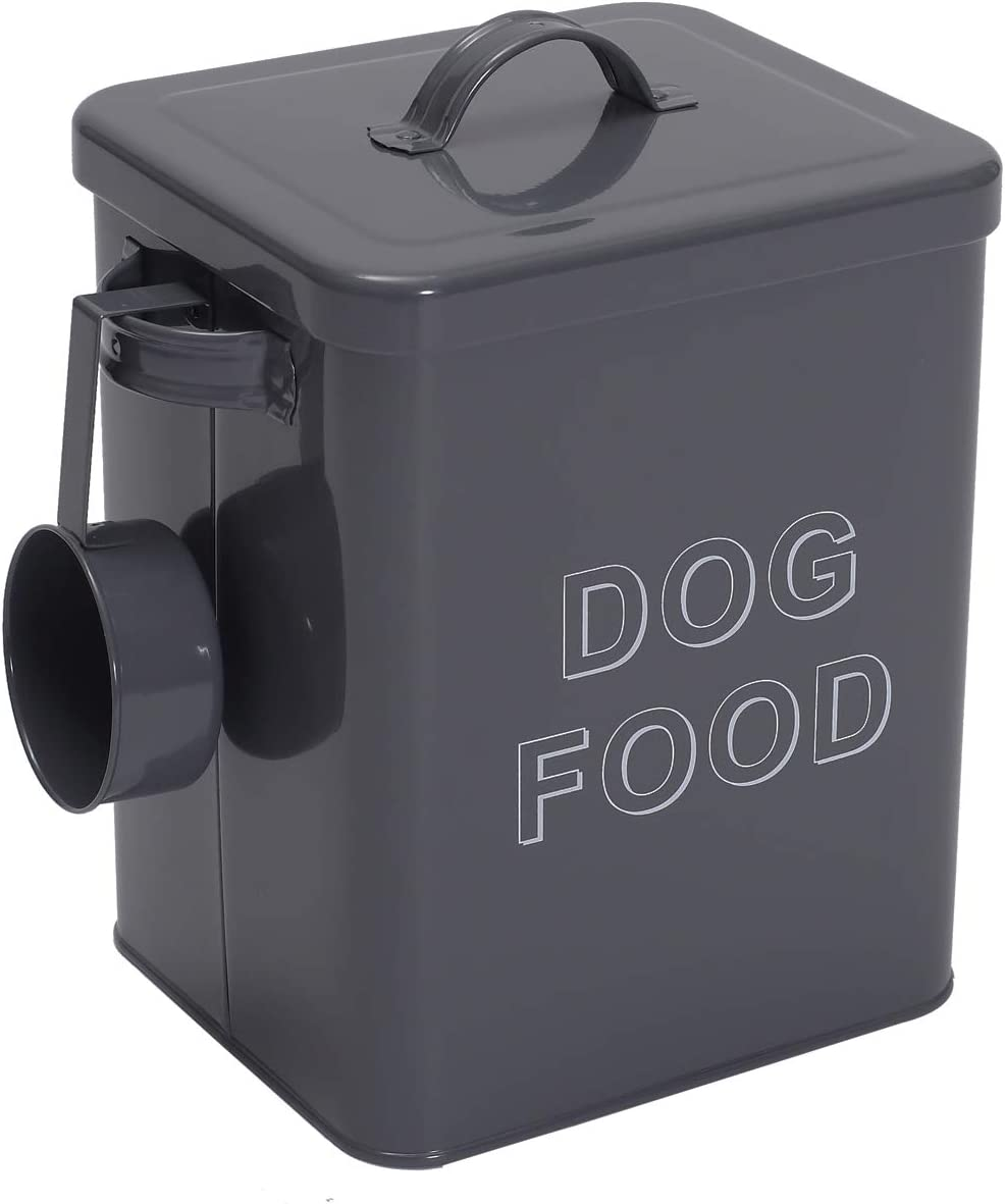Morezi Dog Treat and Food Storage Serving Super popular specialty store with Scoop Lid Tin Atlanta Mall