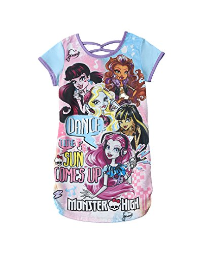 Character Sleepwear Girls Monster H…