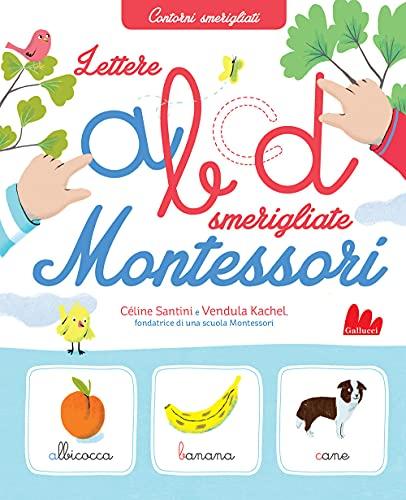 Lettere smerigliate Montessori. Ediz. a colori