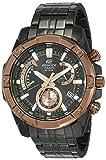 Casio Edifice Chronograph Black Dial Men's Watch EFR-559DC-1BVUDF(EX492)